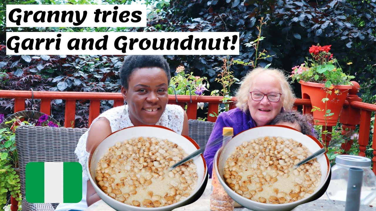 SCOTTISH GRANNY TRY AFRICAN FOOD!