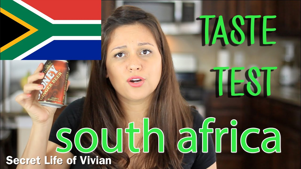 SOUTH AFRICAN FOOD TASTE TEST #1 | SOUTH AFRICA |