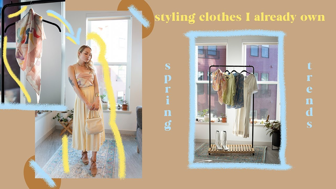 Shopping My Closet | Spring and Summer 2020 Trends |