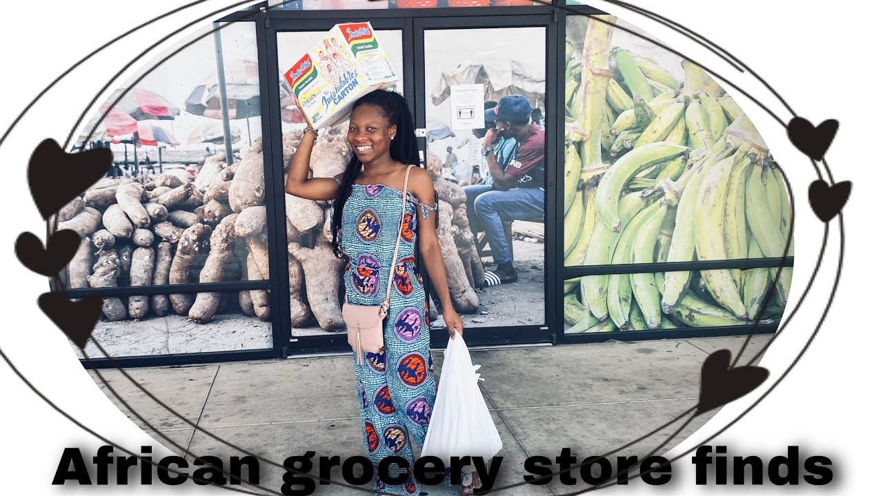 Shopping for African Food Items in the United States