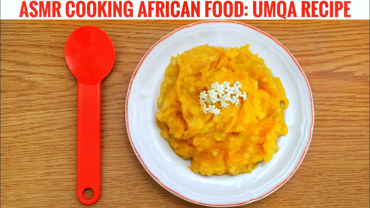 [South African ASMR Food] Cooking + Whisper Voiceover + Water