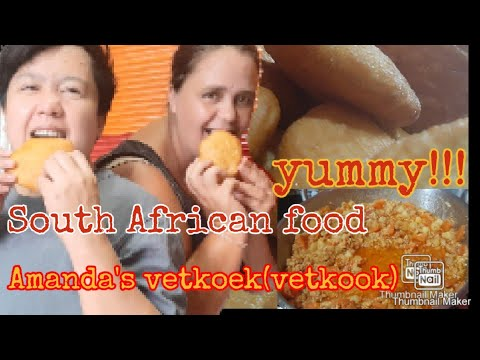 """South African food""""vetkoek"""" cooking tutorial