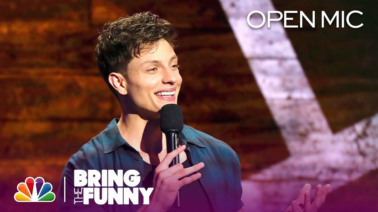 Stand-Up Comedian Matt Rife Performs in the Open Mic Round