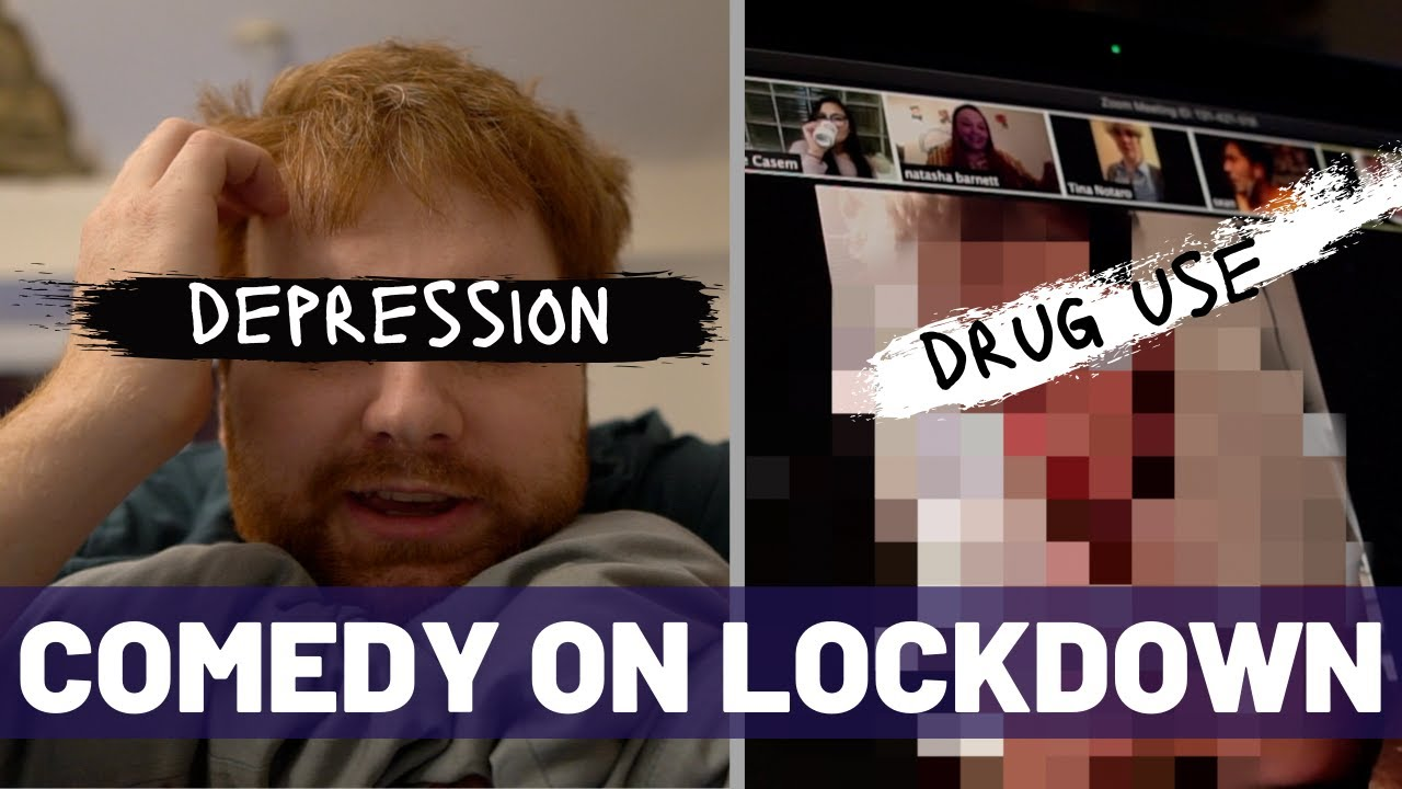 Stand-up Comedian Deals With the Lockdown