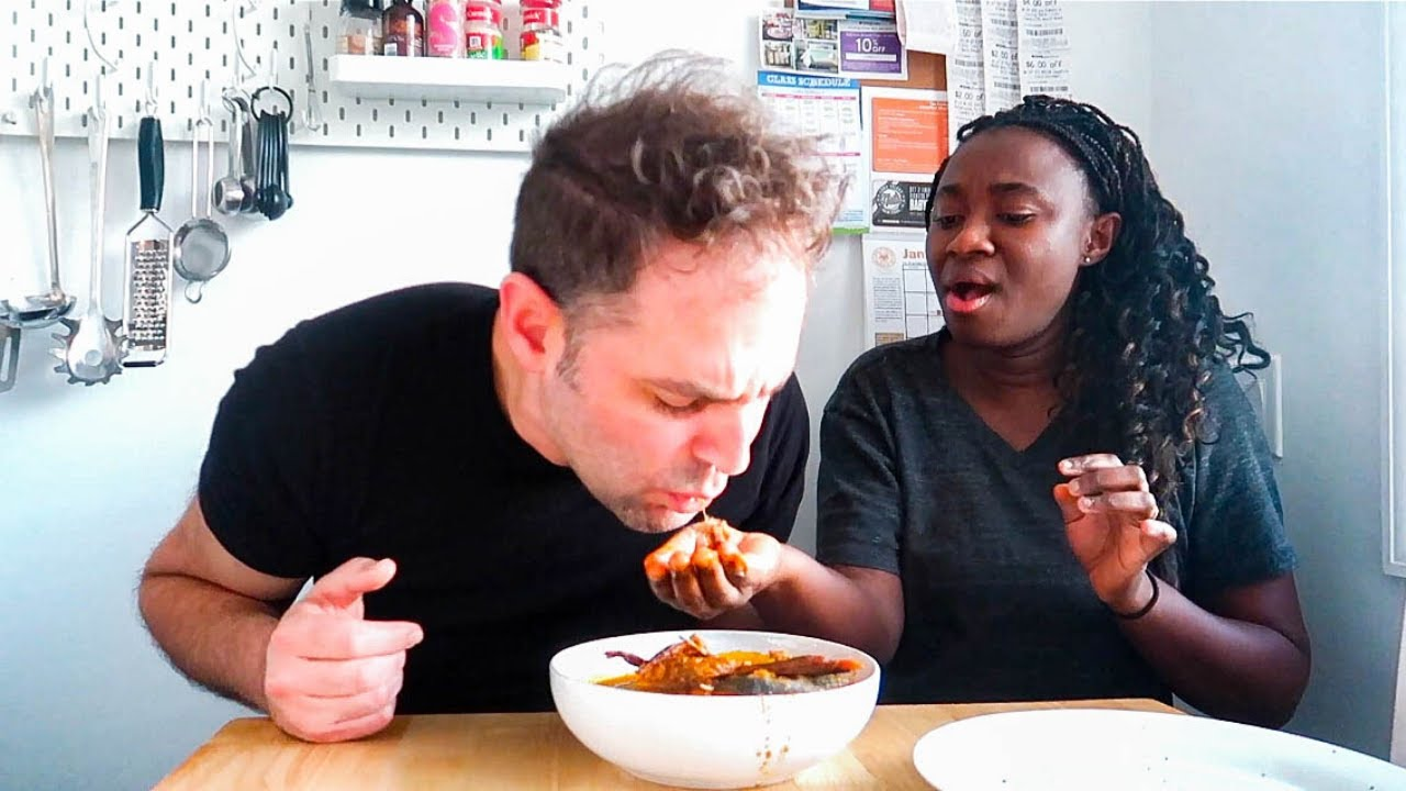 Surprising My Husband with an Authentic African Food!!! **DISASTER**