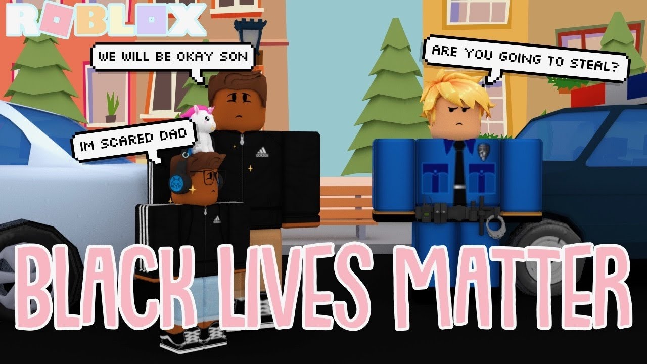 THEY TREAT US DIFFERENTLY *BLACK LIVES MATTER* Roblox Bloxburg Roleplay