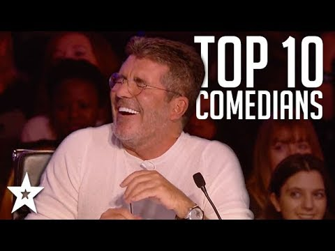 TOP 10 Funniest Comedians That Made SIMON COWELL Laugh on