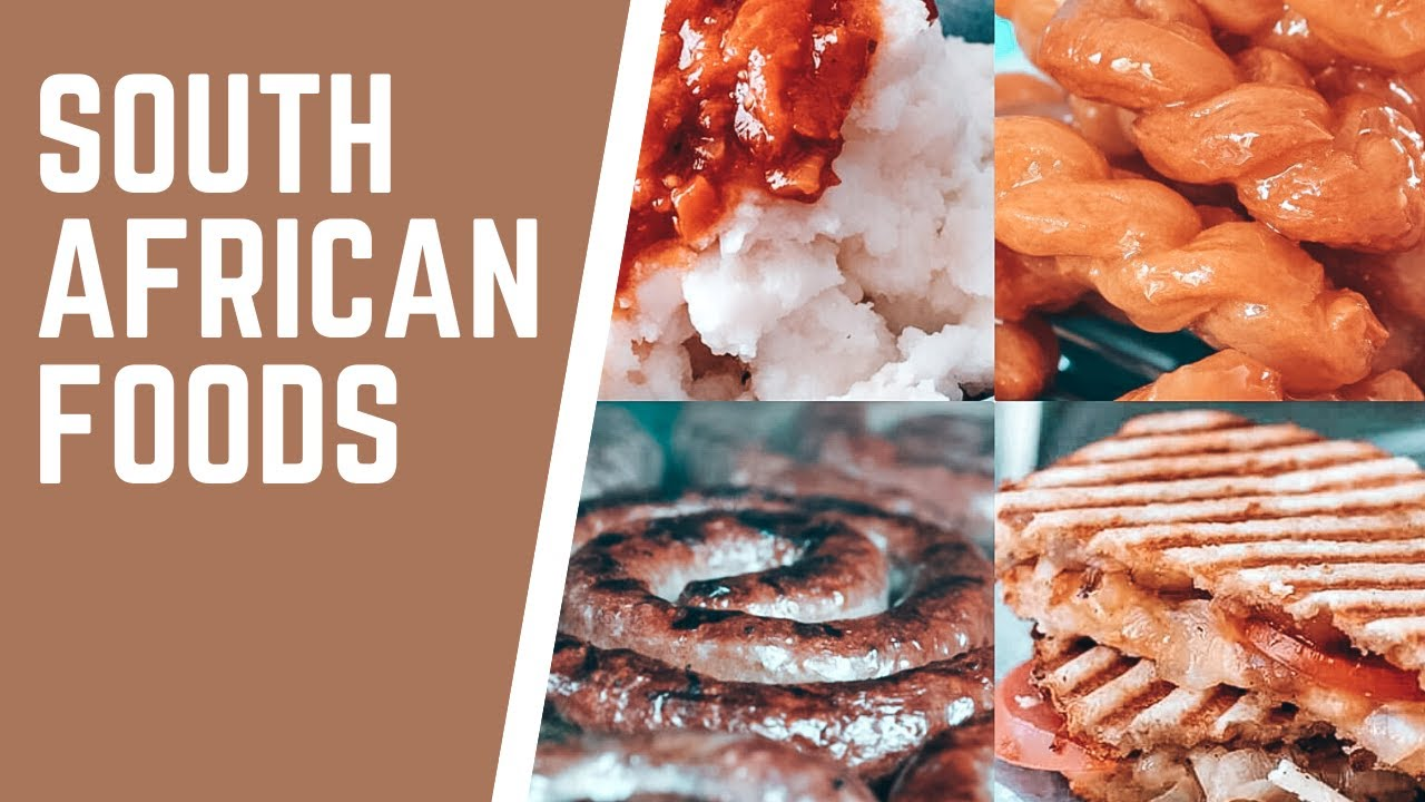 TRADITIONAL SOUTH AFRICAN FOOD & SNACKS