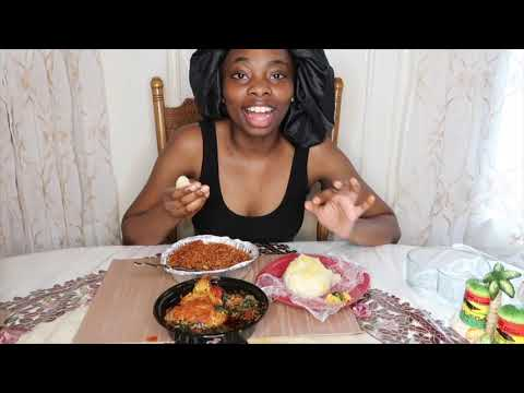 TRYING WEST AFRICAN FOOD FOR THE FIRST TIME   JOLLOF