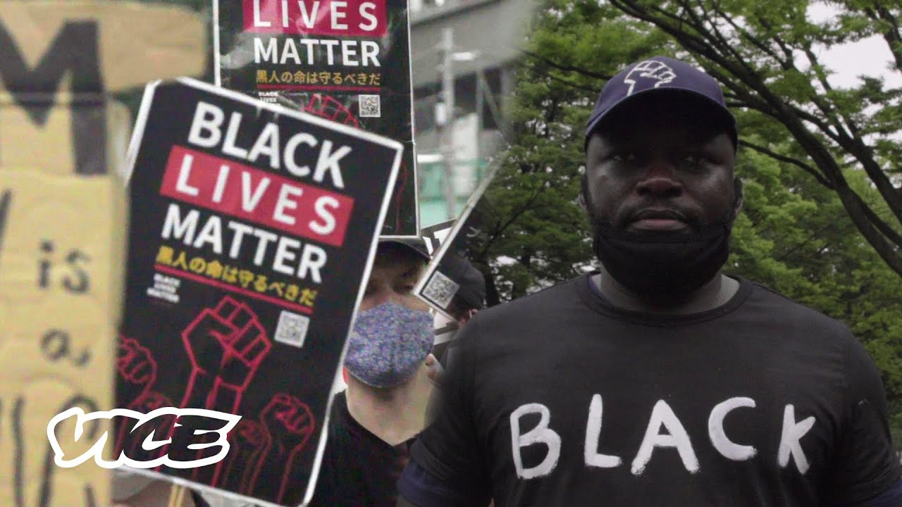 The Black Lives Matter Movement Is Growing in Japan |