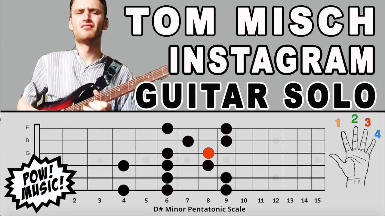 Tom Misch Instagram Guitar Solo Lesson and Music Theory Explanation