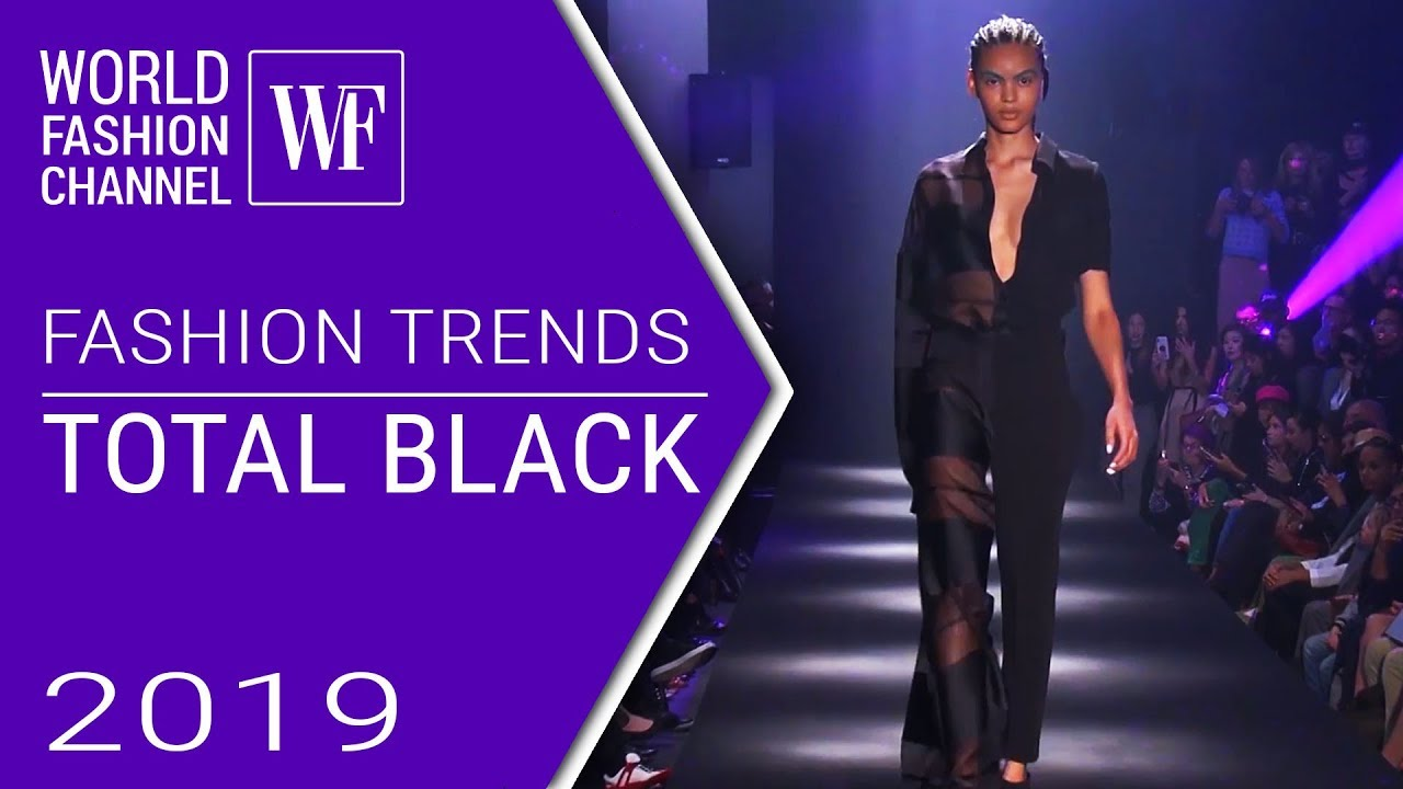 Total black look | Fashion trends ss 2019
