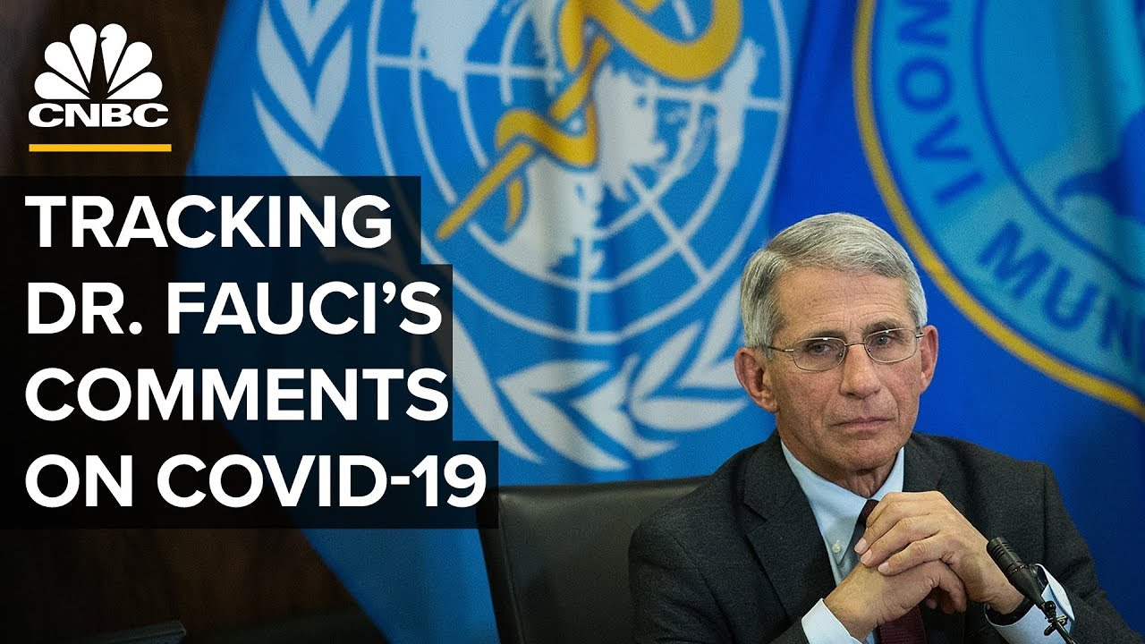 Tracking Dr. Anthony Fauci's Comments On Coronavirus