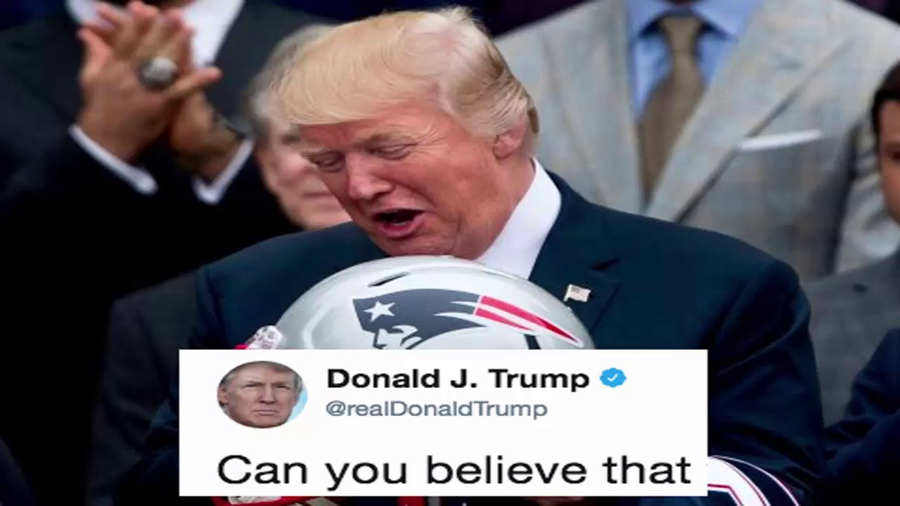 Trump Just Demanded The NFL Take 'Control' Of Black Athletes