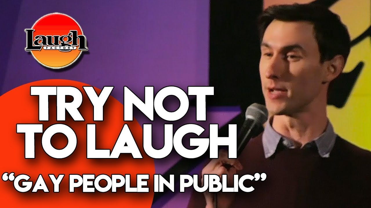 "Try Not to Laugh | ""Gay People in Public"" 