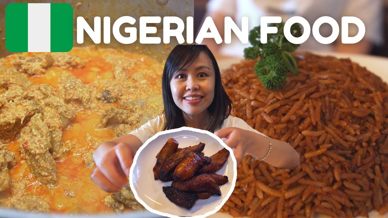 Trying EXOTIC West AFRICAN FOOD | NIGERIAN Food in Sydney