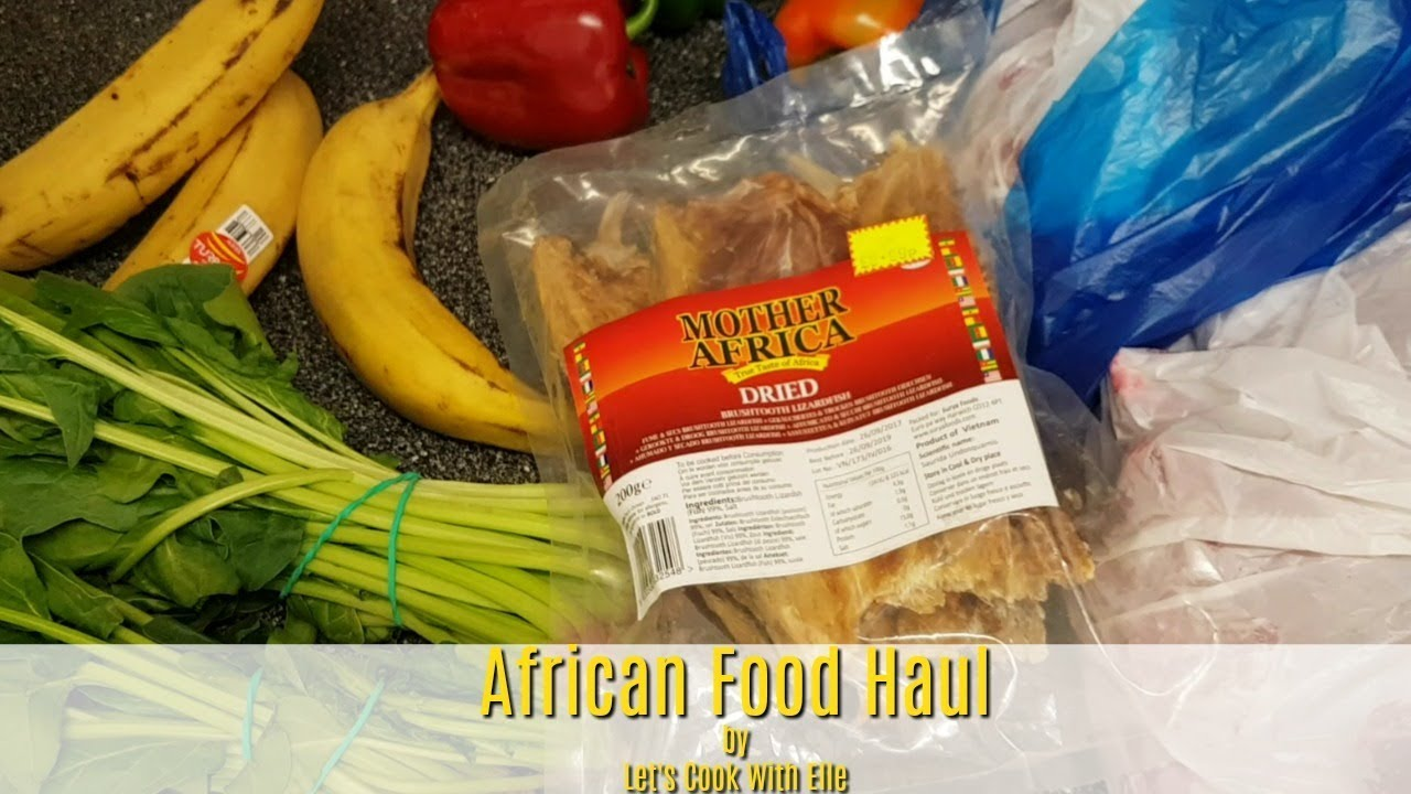 UNEXPECTED African Food Haul