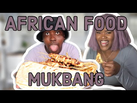 VIRTUAL AFRICAN FOOD MUKBANG | CANCEL CULTURE, NETFLIX SHOWS AND