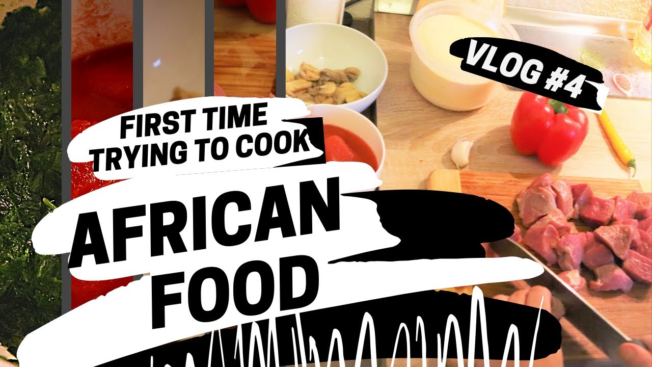 VLOG #4: Arab & Latina cook African food for Nigerian