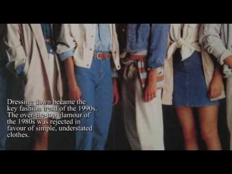 VWC Decades: 1990s Fashion & Music Trends