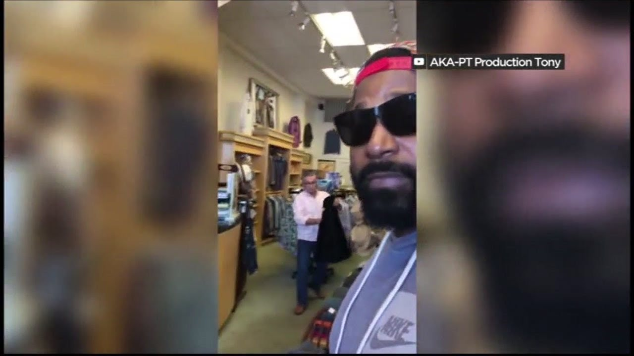Video of store owner kicking African-American family out of establishment