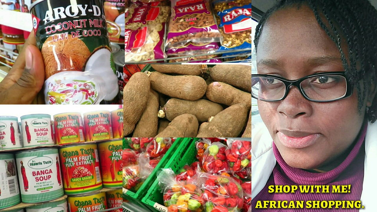 Vlog #1   African/Nigerian Food Stuffs Shopping   Shop with