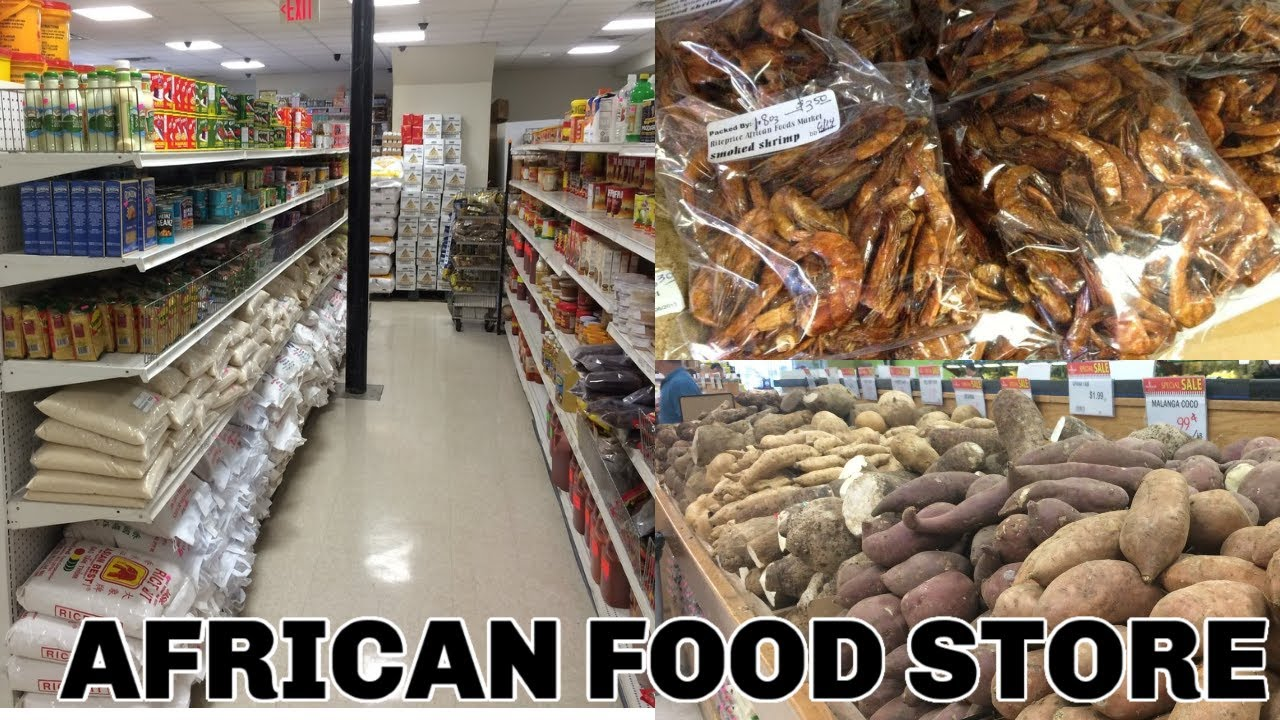 Vlog #2 | AFRICAN & NIGERIAN FOOD STORE SHOPPING |