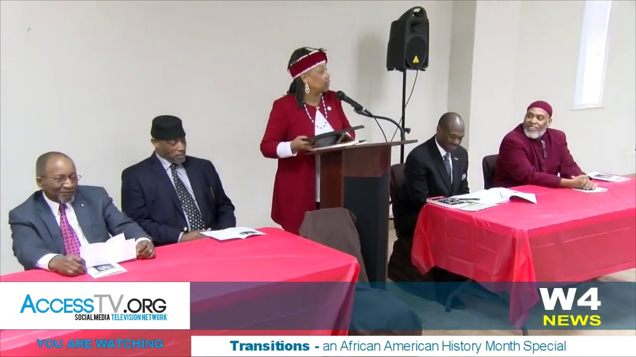 W4 News – Transitions – an African American History Month