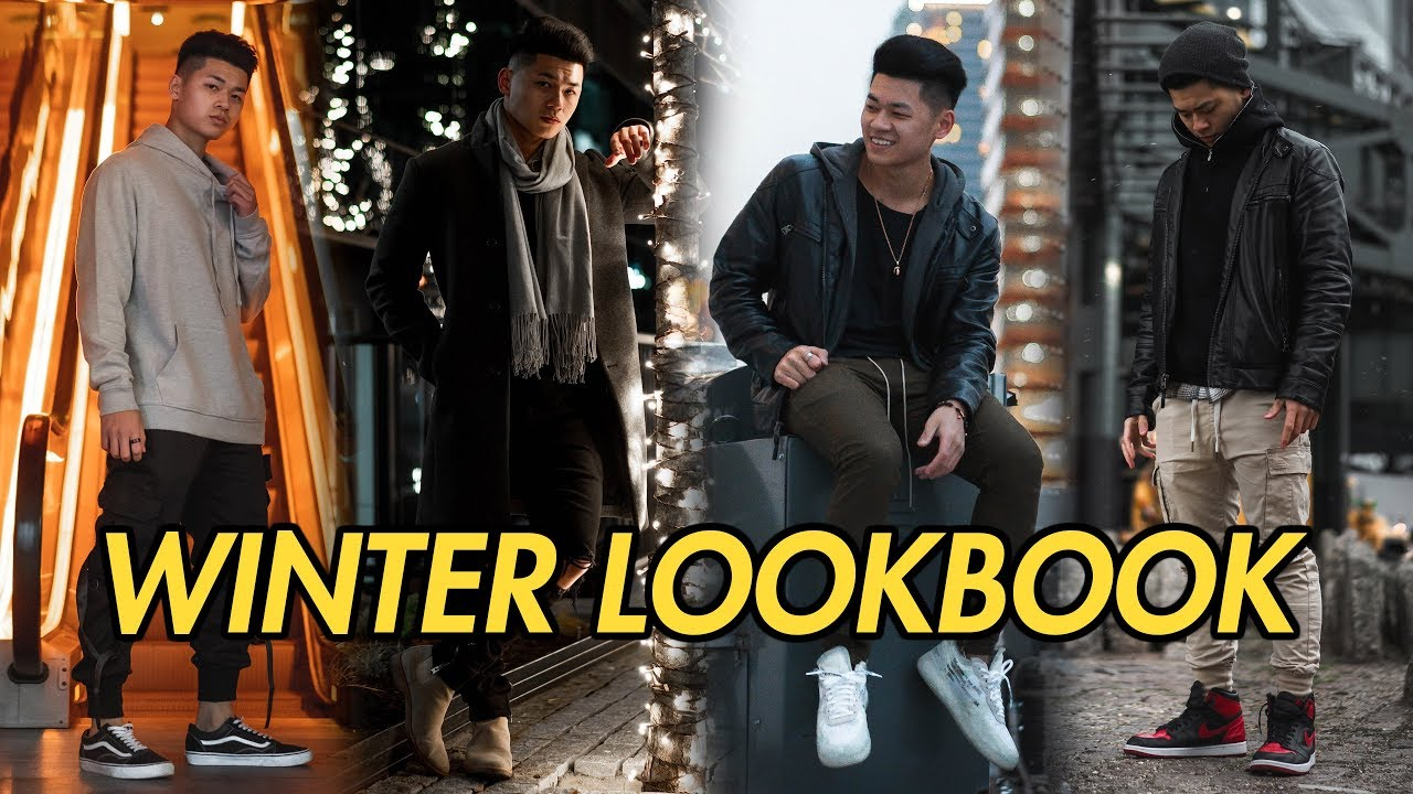 WINTER STREETWEAR OUTFIT INSPIRATION | 2019 MEN'S LOOKBOOK