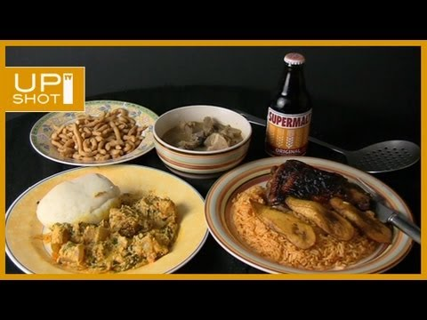 West African Food – M&S Comedy spoof