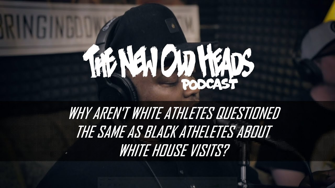 Why aren't white athletes questioned the same as Black athletes?