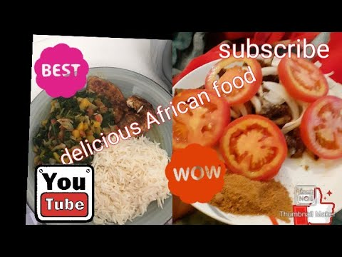 #delicious African food #
