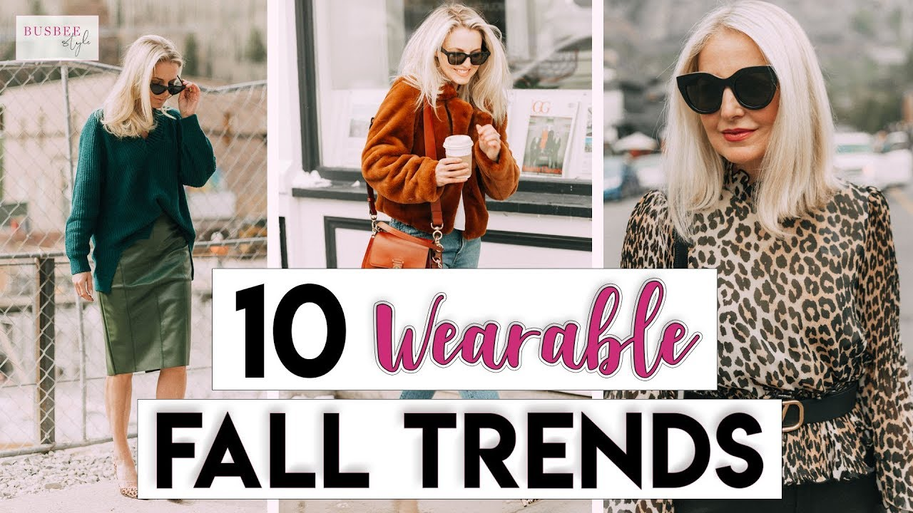 10 Fall Fashion Trends You Can Easily Wear!