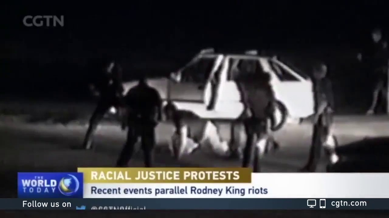 1991 Rodney king African American Attacked by White cops.