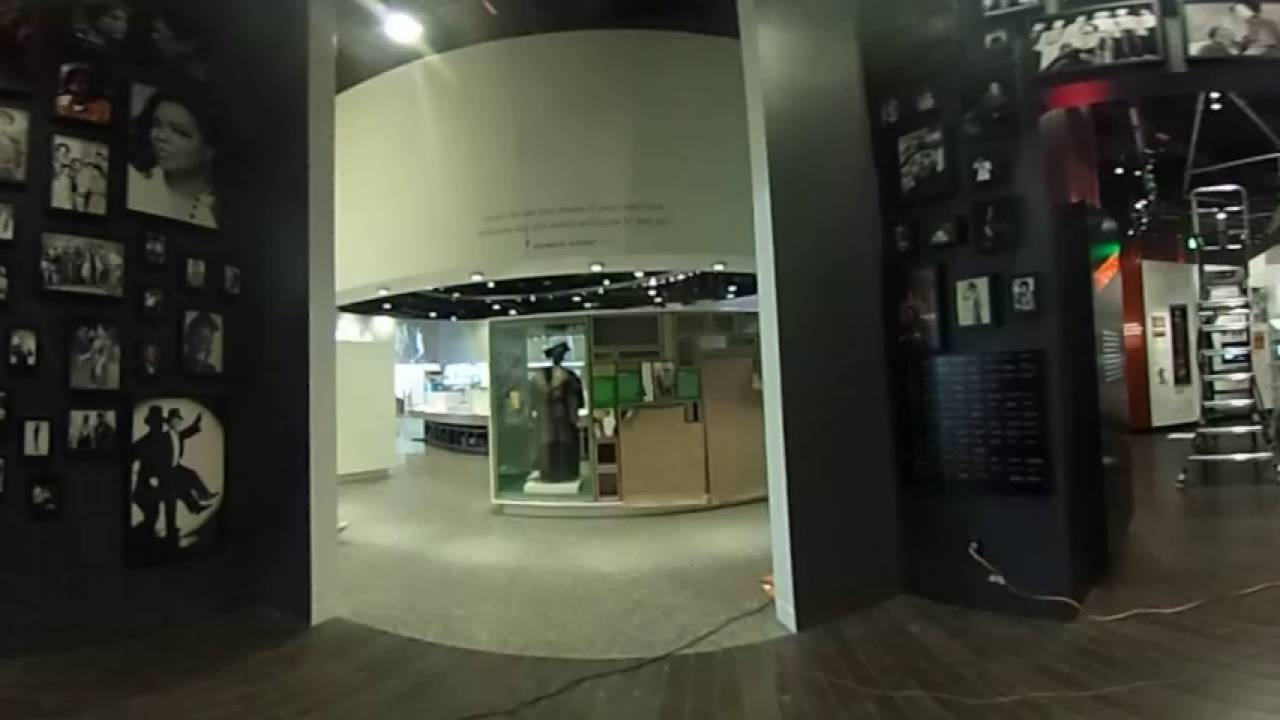 360 view inside of African American History Museum