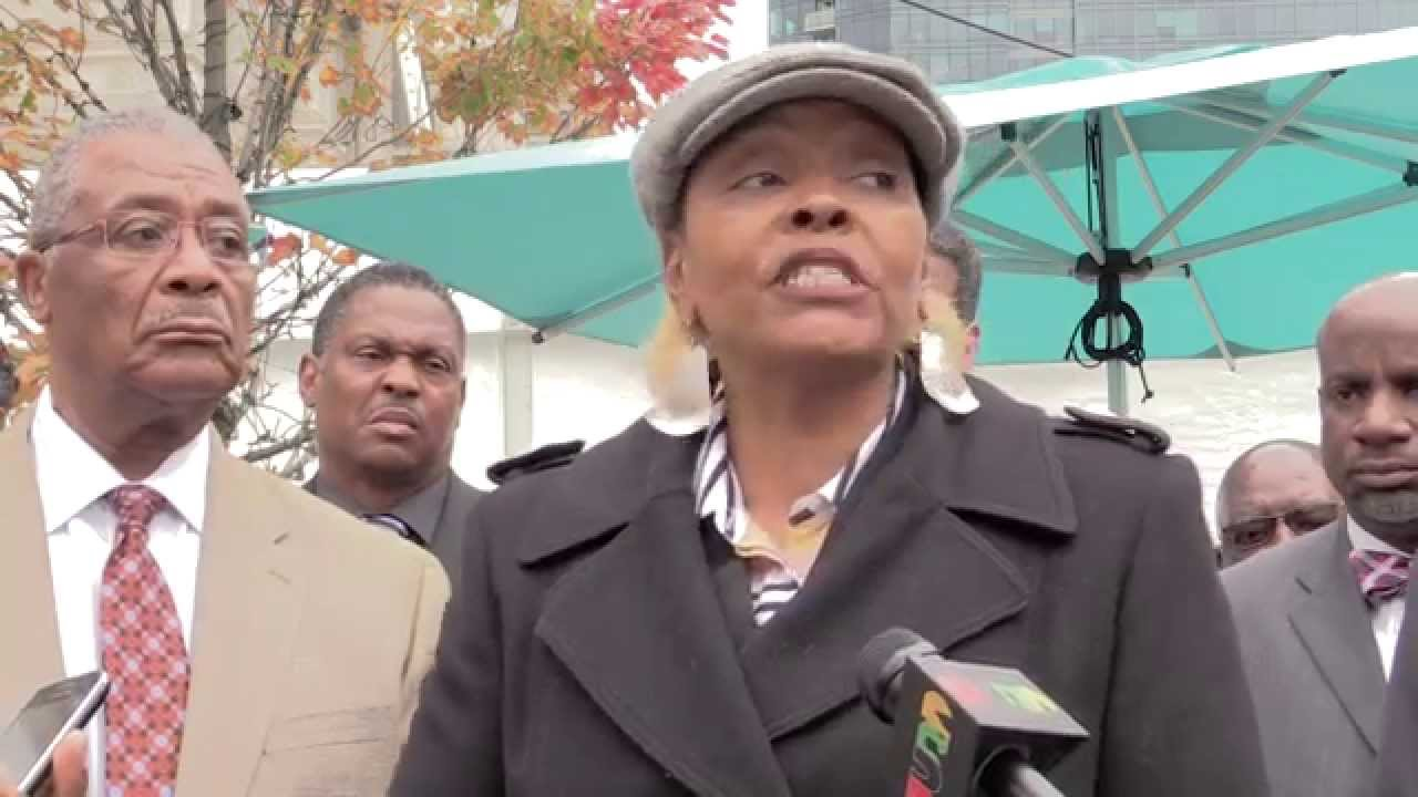 African-American Leaders Hold News Conference About Philadelphia Casino