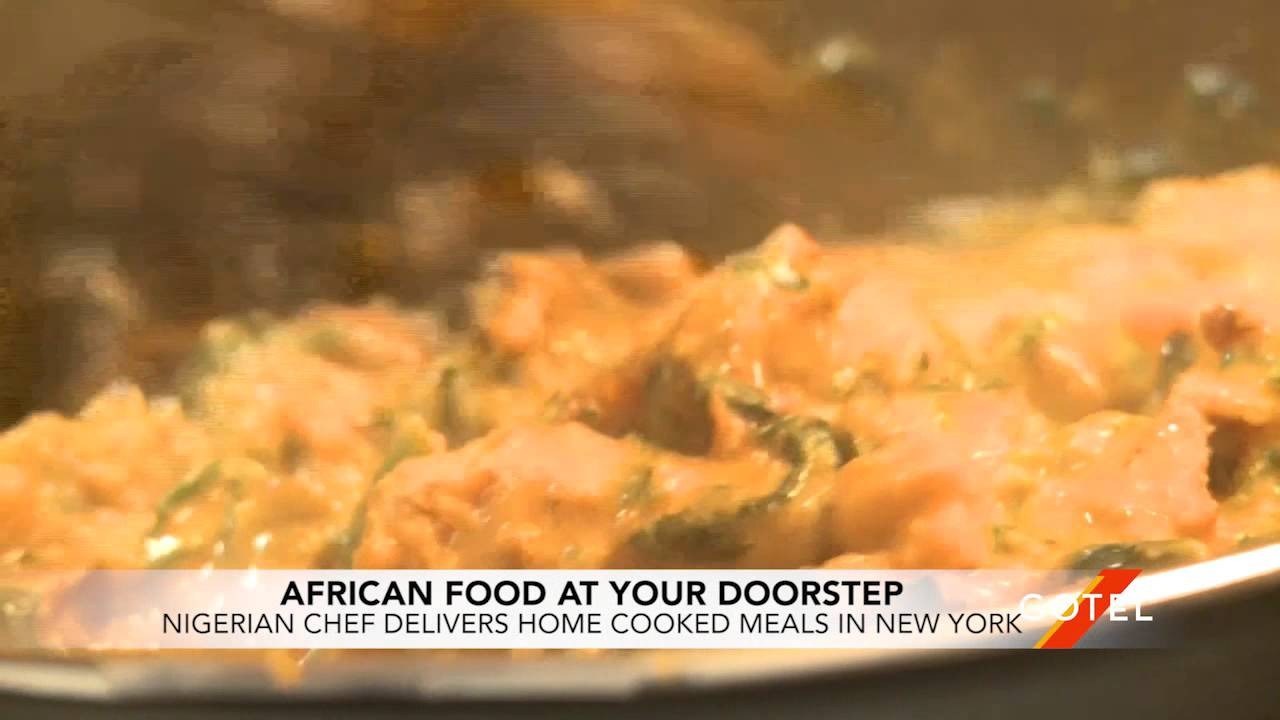 African Food Delivered to New Yorkers' Doorsteps