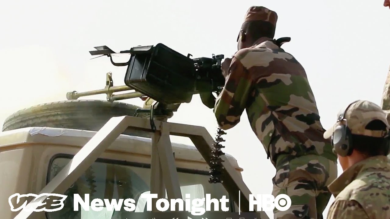 American War In Africa & Conspiracy Theorists: VICE News Tonight