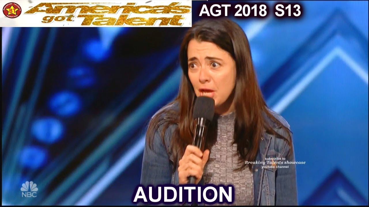 Carmen Lynch Stand Up Comedian America's Got Talent 2018 Audition
