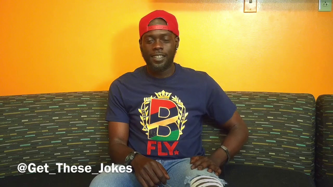 Comedian Black Charles | Get These Jokes Comedy Network |