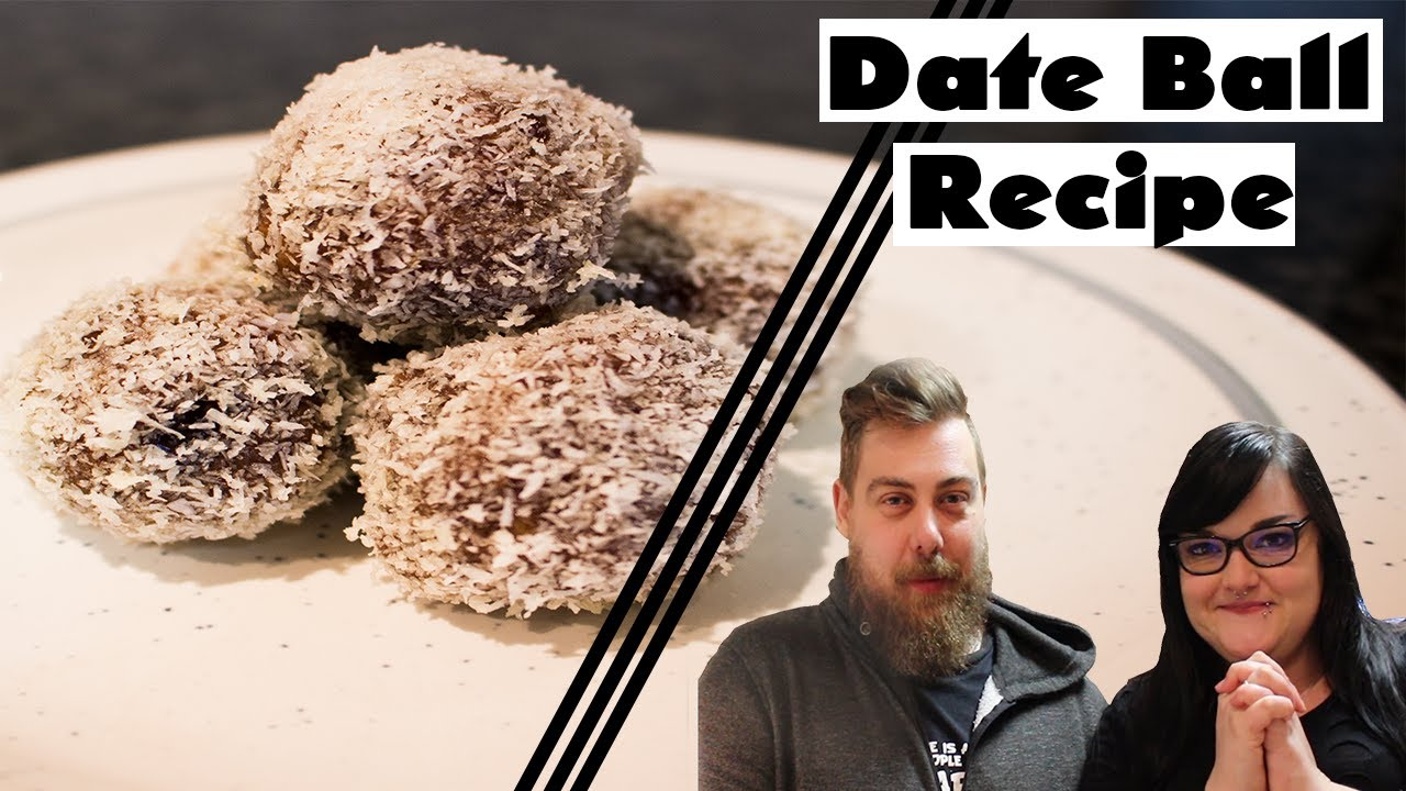DATE BALL Recipe (Dadelballetjies Resep) South-African Food