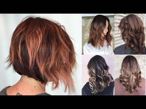 Dark Brown Hairstyles For Women – 2018 Brown Hair With