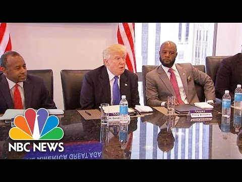 Donald Trump: African American Community Has Been Let Down By