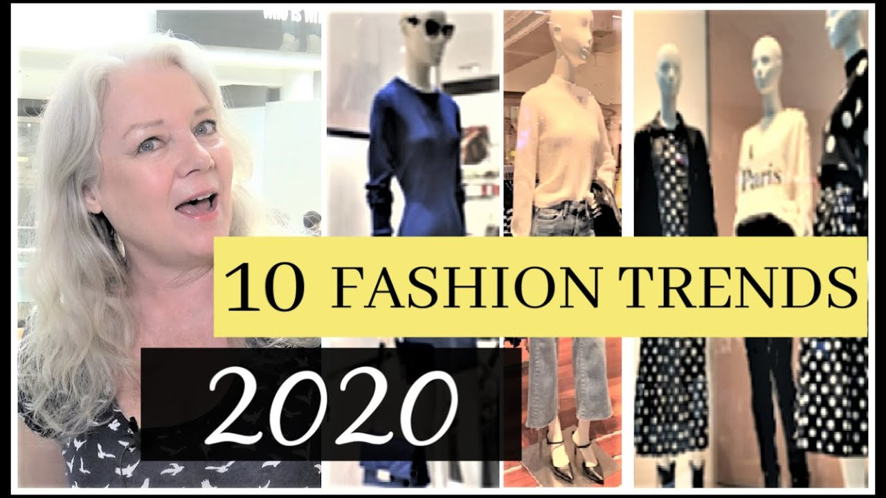 Fashion Trends for 2020 ( 10 Styles for Mature Women