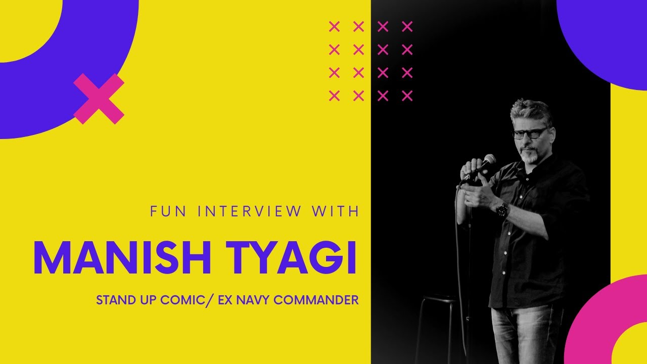 Fun Interview with Manish Tyagi l Stand Up Comedian