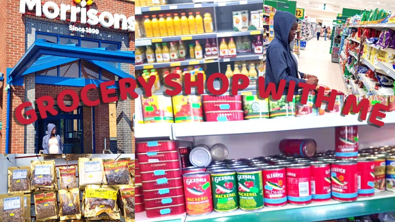 GROCERY SHOP WITH ME| AFRICAN FOOD|UK FOOD HAUL| WALKTHROUGH