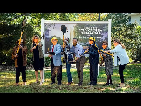 Honoring the history of Black Americans, NC Freedom Park begins