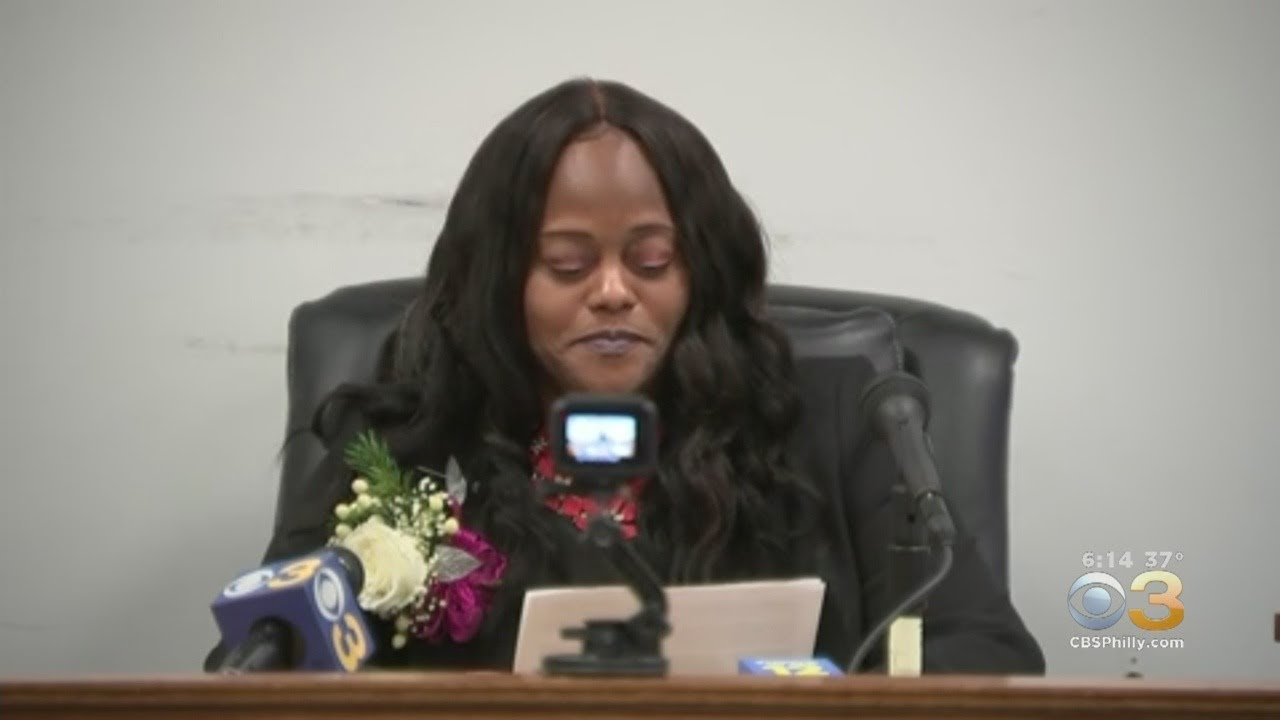 LaDaena Thomas Sworn In As Penns Grove's First African-American Woman
