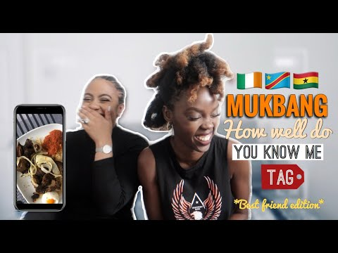 MUKBANG ASMR AFRICAN FOOD | HOW WELL DO YOU KNOW
