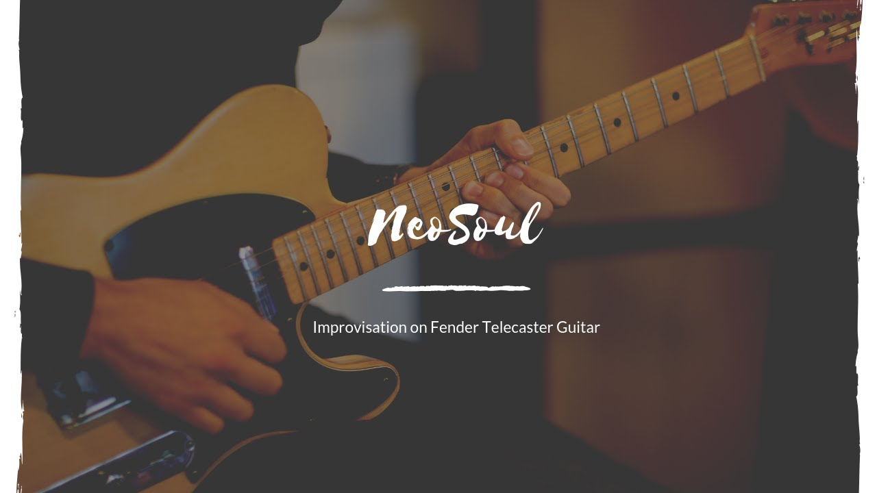 NeoSoul Solo on Fender Telecaster Guitar